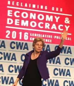 Academic and Democratic Party member Elizabeth Ann Warren is the senior U.S. senator from Massachusetts.